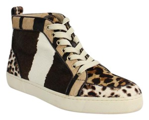 Christian Louboutin Brown and white Athletic