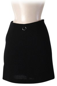 Moschino Wool Skirt Black