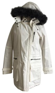 Vince Parka Fur Coat