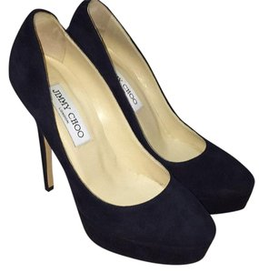 Jimmy Choo Navy blue Platforms