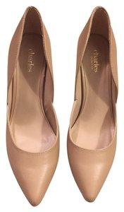 Charles by Charles David Pointed Nude Pumps