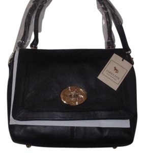 Emma Fox Satchel in Black
