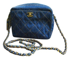 Chanel Denim Vintage Shoulder Bag