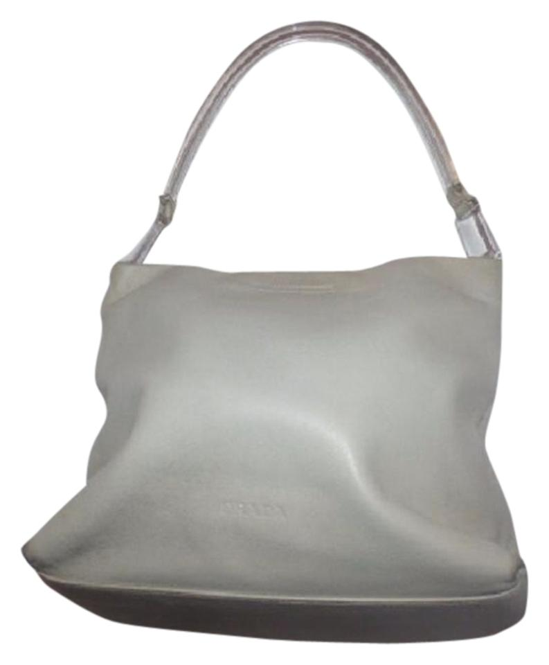 4e2bc6356cbc Prada Mint Vintage Retro Mod Style Has Tags Dust Dressy Or Casual Satchel  in cream ...