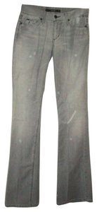 JOE'S Distressed Curvy Fit Boot Cut Jeans-Medium Wash