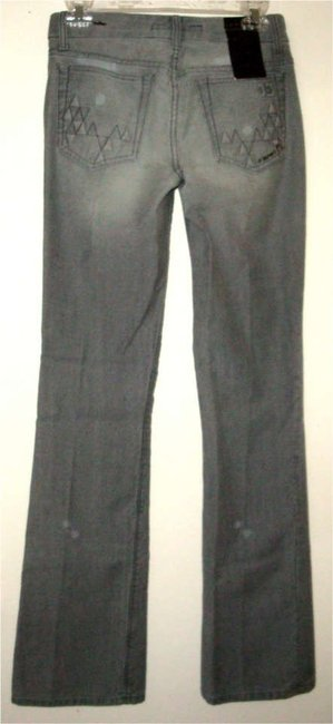 JOE'S Distressed Curvy Fit Thornton Shapely Honey Boot Cut Jeans-Medium Wash