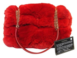 Chanel Classic Flap Classic Fur Rabbit Fur Classic Shoulder Bag