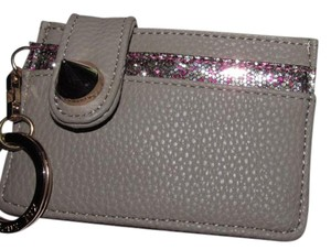 deux lux Deux Lux Empire State Card Case Grey/Glitter Purple BNWT