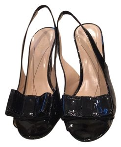 Kate Spade Classic Patent Comfortable Black Pumps