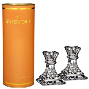 Waterford Marquis By Waterford Giftology 2 Pc. Lismore Candlestick Set