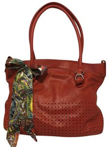 Perlina Tote in Red