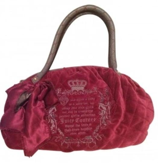 Juicy Couture Velour Hobo Bag