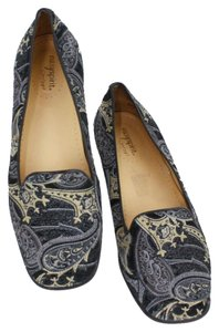 Easy Spirit Black Navy Gray Yellow Flats
