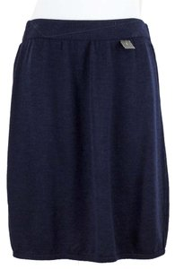 St. John St Basics Navy Blue Knit Skirt