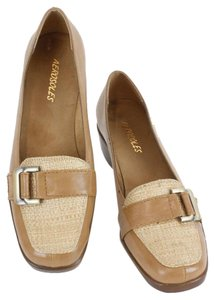 Aerosoles Camel Tan Brown Flats