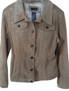 For Joseph Leather Suede Washable Suede Machine Washable pale beige Jacket