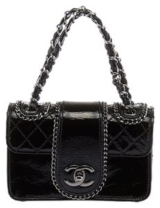 Chanel Mini Pochette Pochette Black Clutch