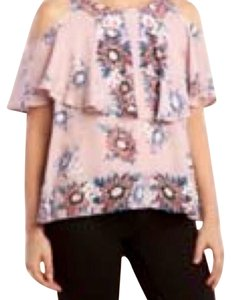 Ella Moss Rosamund Cold Shoulder Top Ballet Pink