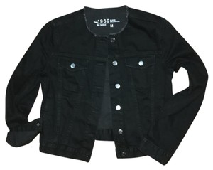 Gap Black Womens Jean Jacket