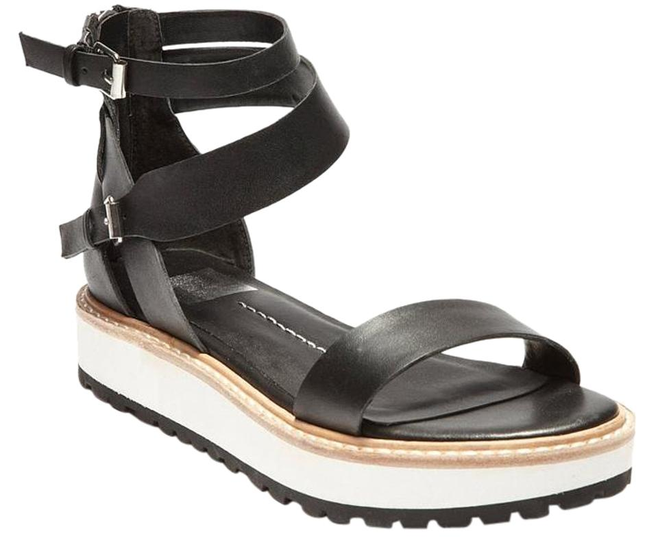 c10636ce6066 Dolce Vita Black Zenith Sandals Size US 6.5 Regular (M