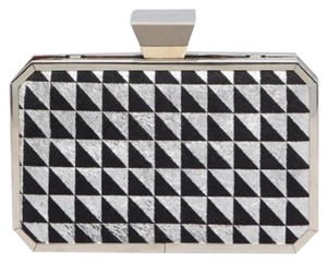 Badgley Mischka Black & Silver Clutch