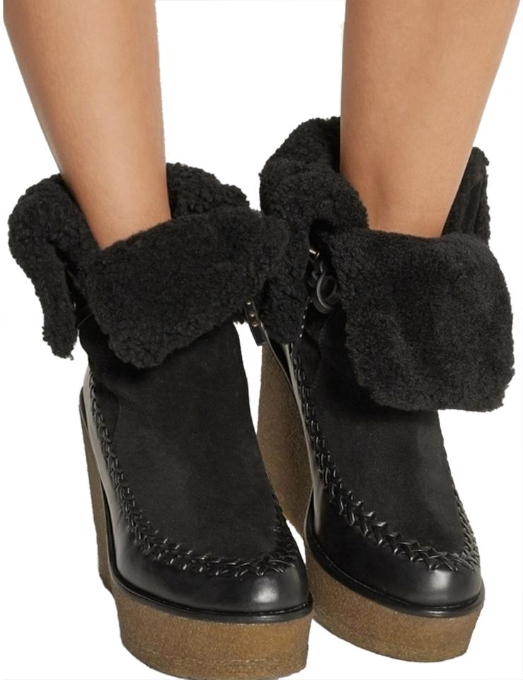 8466c391b Coach Black Limited Edition Suede Boots Booties Size US 10 Regular ...