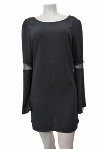 Leith short dress Black Shift In on Tradesy
