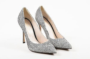 Sergio Rossi Black White Pumps