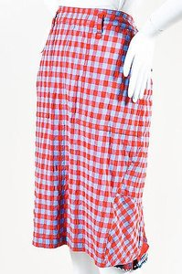 Marc by Marc Jacobs Blue Red Skirt Multi-Color