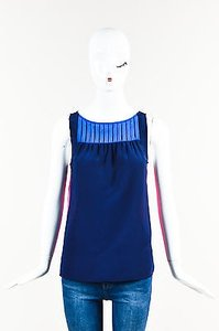 Marc by Marc Jacobs Pink Navy Top Multi-Color