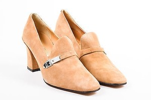 Ralph Lauren Collection Vintage Camel Tan Pumps