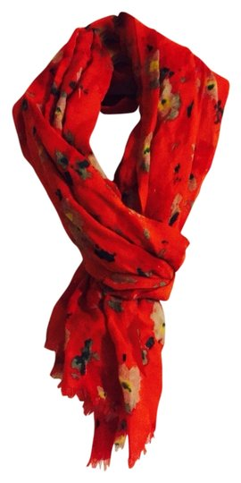 Preload https://item2.tradesy.com/images/jcrew-red-with-colorful-flowers-scarfwrap-1802341-0-0.jpg?width=440&height=440