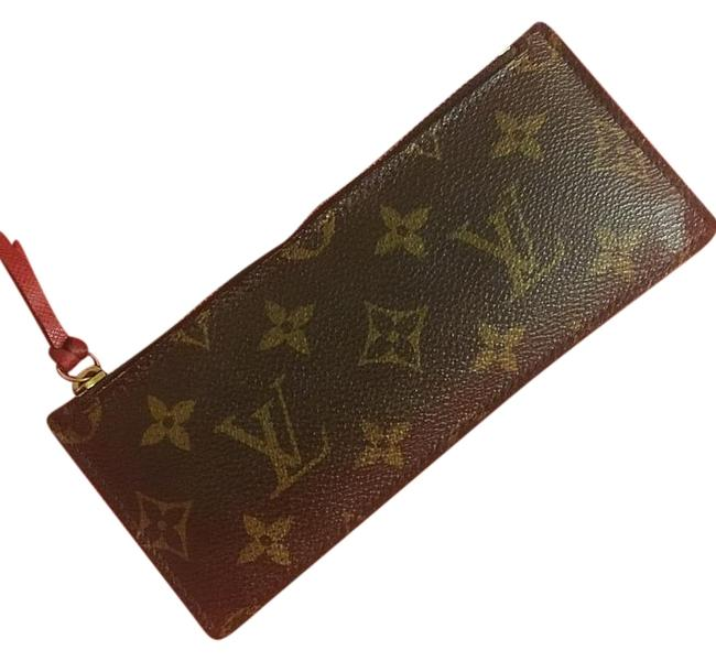 Item - Monogram Zippered Coin Pouch Wallet