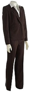 Jones New York Jones New York 2-piece Twill Multi-stripe Pantsuit