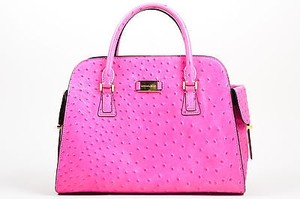 Michael Kors Hot Ostrich Tote in Pink