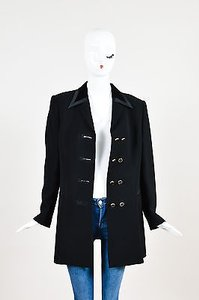 Escada Wool W Velvet Black Jacket
