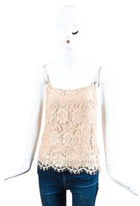 Christopher Kane Floral Top Nude