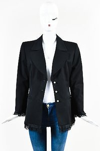 Escada Wool Lace Black Jacket