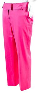 Dior Christian Wool Capri/Cropped Pants Pink