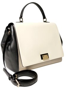 Kate Spade Satchel in Taupe Cream Black