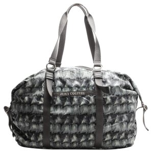 Juicy Couture gray Travel Bag