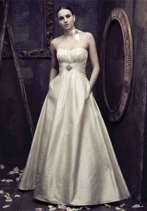 Paloma blanca wedding dress tradesy for Wedding dress resale st louis