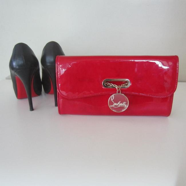 Item - Riviera Red Patent Leather Clutch