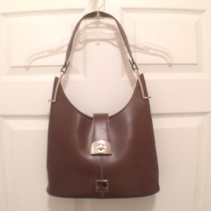 Dooney & Bourke Leather Hobo Shoulder Bag