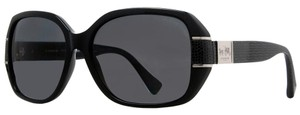 Coach New Modern Bryn Black/Gray Women's Sunglasses