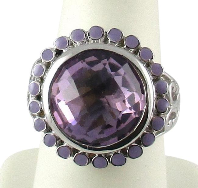 Item - Pink Amethyst 6.55ct - Size 7 Ring