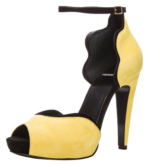 Pierre Hardy Yellow Platforms