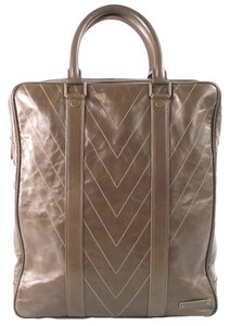 Louis Vuitton Soana Cabas Tote in Gris/Brown