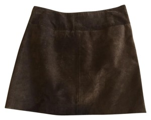 Mossimo Supply Co. Mini Skirt Brown