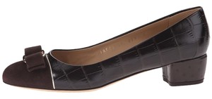 Salvatore Ferragamo cocoa Pumps